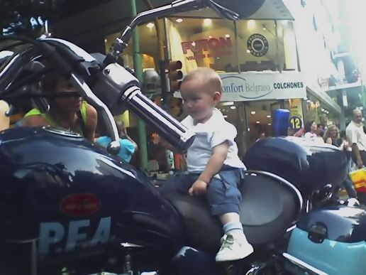 The baby police!!!