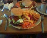 Oscars towering inferno burger