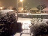 Heavy snow in Belfast