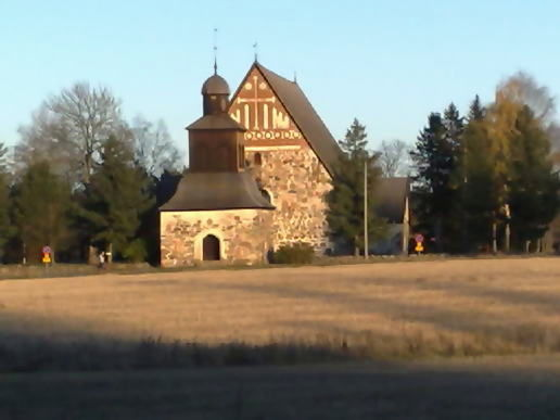 the Sipoo church