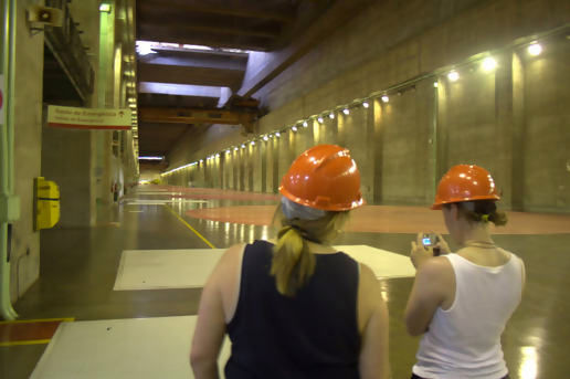 Itaipu is enormous!