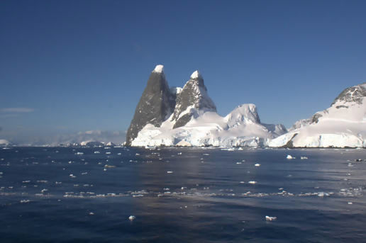 Up the Lemaire Channel and through the Drake Passage