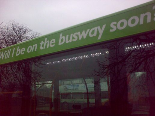 Will I be on the busway soon?