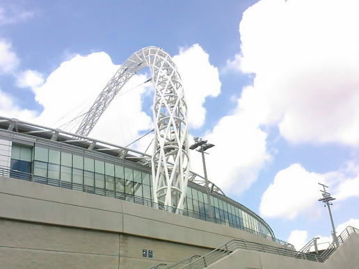 Wembley Arch Sunny Pic