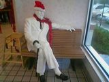Creepiest thing ever seen at a kentucky fried chicken!