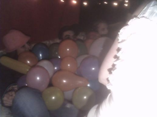 all the balloons!