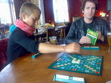 ah, sunday scrabble in the pub.