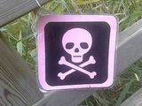 Beware the pink death!