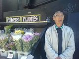 bill has been selling flowers here for 30 years