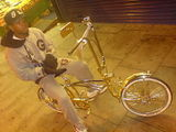 Bling bring! Silver bike king