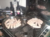 Many many sausages