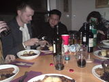 A lovely German dinner party