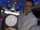 john from mapme.at shows us his  clock