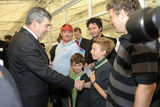 Meeting Gordon Brown at the UK Catalyst Awards