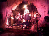 The band at Punchdrunk's Faust