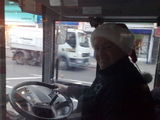 Tom, legendary bus driver