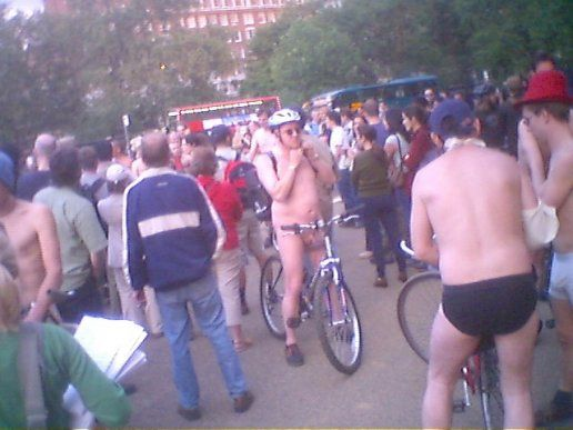 World Naked Bike ride 2 , NSFW!
