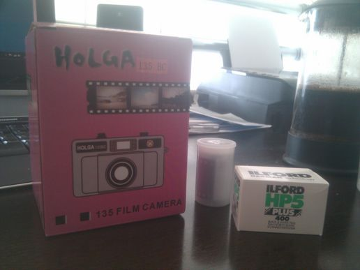 Yay! New Holga!
