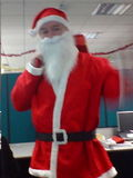 Santa Comes to the office