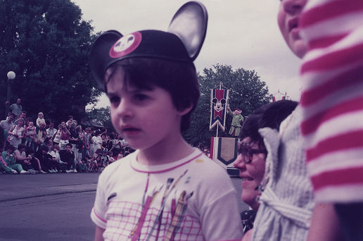 My first Disney parade (1984)