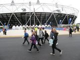 ...a few more pictures of our day at the Olympic Stadium