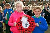 Remembrance Day at the Beverley War Memorial.