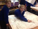 Year 4 geography - investigating 4 figure grid references on local maps