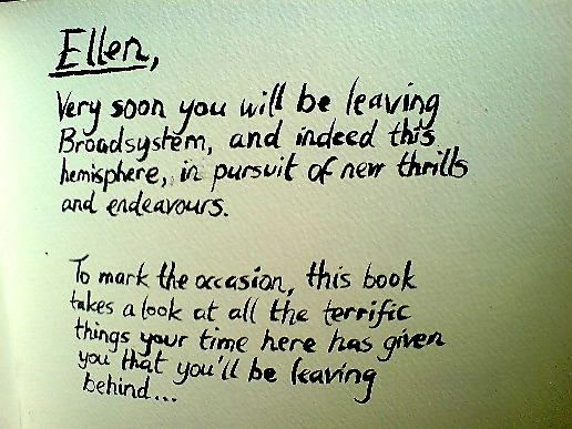 the book of ellen