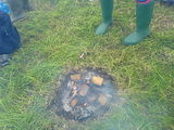 Bonfire and wellies.