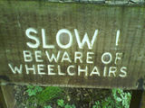 Beware of Wheelchairs