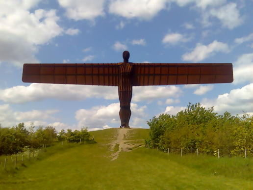 Angel of the north...again
