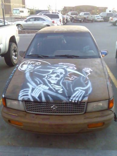 Car Graffiti, at mrc's moblog