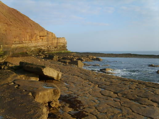 Filey brigg - early this morning