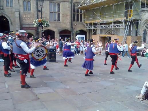 Good old pagan fertility dancing