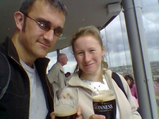 Guinness...fresh from the brewery