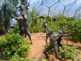 Eden project - Sculptures