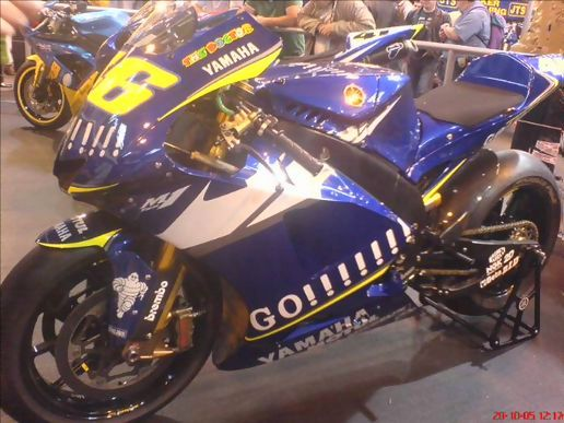 Valentino rossi gp bike