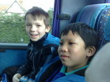 On our way to Cadbury World