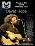 Artist of the month Feb/10 David Hope
