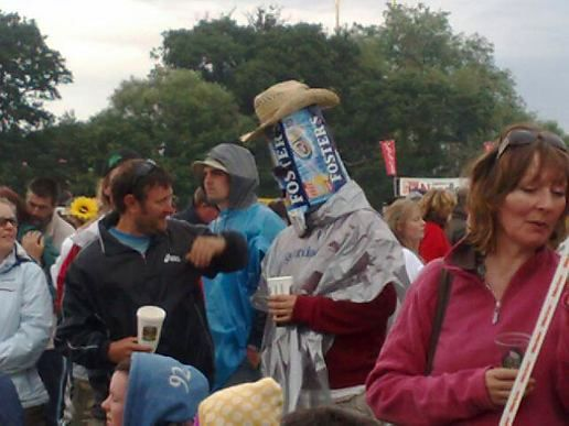 Isle of wight attendees are a mixed bag!