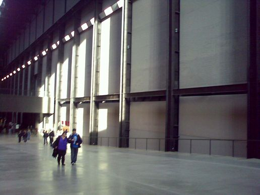 540's in the Turbine Hall, Tate Modern