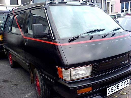 A-Team van, Blackpool
