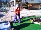 Lucy's Birthday Weekend - Crazy Golf!