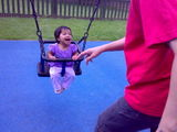 Joy on Swings