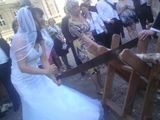 And the bride brought a saw