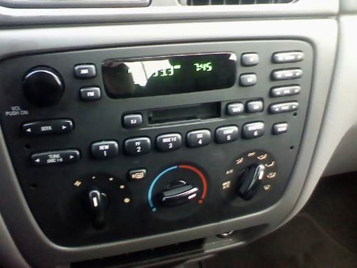 Crappy rental radio