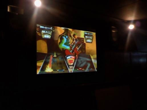 Guitar Hero Challenge at the bar