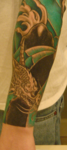 Lower Arm - 3rd Session - Color - Water