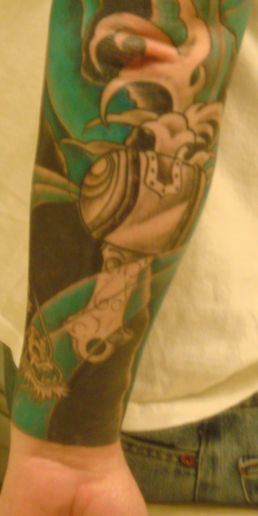 Lower Arm - 3rd Session - Color - Water. (viewed 1385 times)