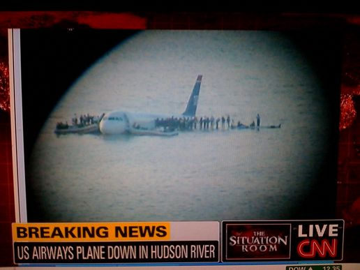 Plane crashes into Hudson River - NY 2